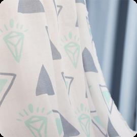 diamond muslin swaddle blanket