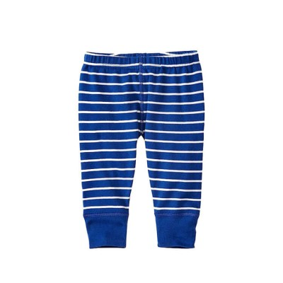 blue stripe baby pants