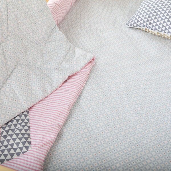 stripe patchwork 6 pieces bedding for babies