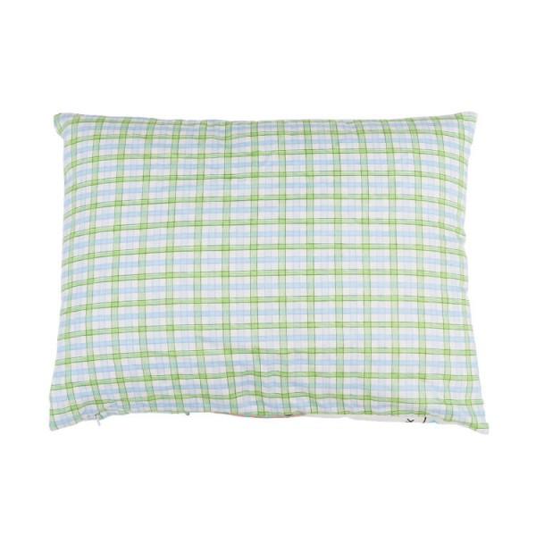 green elephant infant pillow case