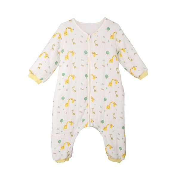 winter warm baby sleeping bag with legs