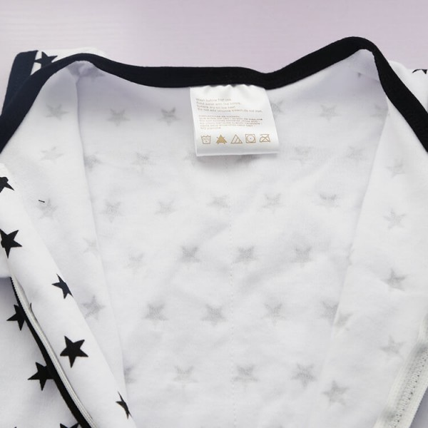 black star baby swaddle sleep sack