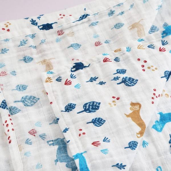dachshund muslin big swaddle blankets