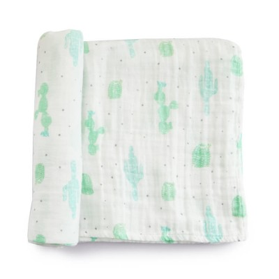 cute cactus extra large swaddle blankets