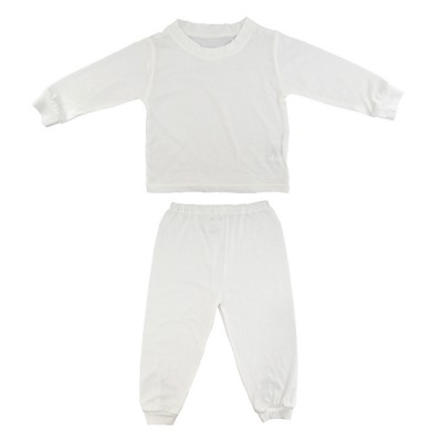 cotton jersey baby sleep pajamas set