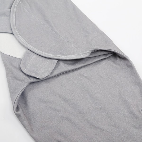 solid gray color 0~3 moth easy swaddle