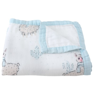 Silky Soft Oversize Muslin Blanket