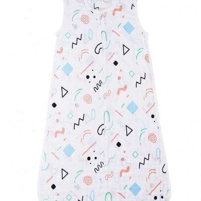 100% Cotton Muslin Baby Sleeping Sack Bag