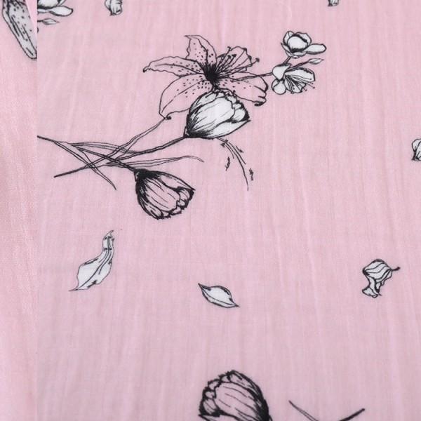 Organic Muslin Girl Swaddle Blankets