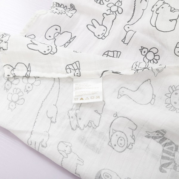 Bamboo Blankets Baby Muslin Swaddle