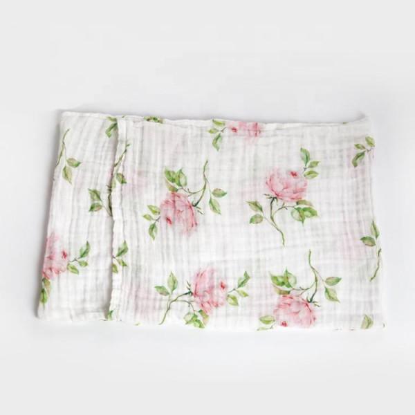 Muslin Crib Sheet And Blanket Set