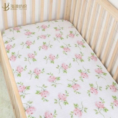 Cotton Muslin Crib Sheet For Your Baby