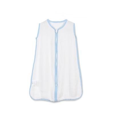 raw white bamboo muslin 4 layer gauze baby sleeping bag