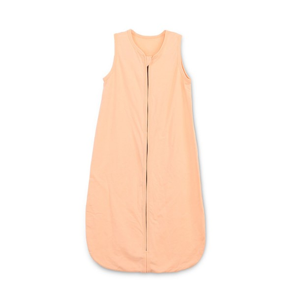 solid color orange cotton jersey sleep sack