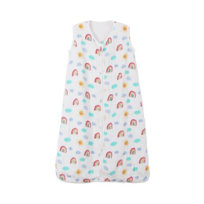 Rainbow Bamboo Muslin Kid Sleeping Bag