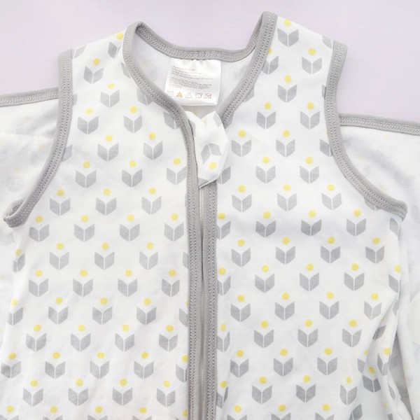 light gray baby wrap sleeping bags