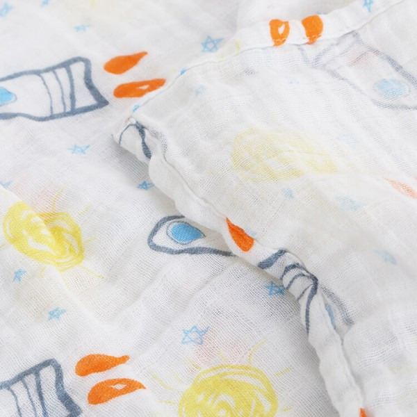 little rockets soft cotton muslin best swaddle blankets