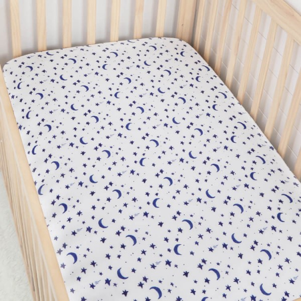 Cotton Muslin Crib Sheets Boy