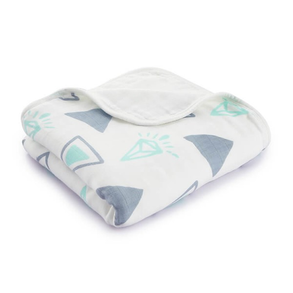 Green Diamond Best Muslin Blankets