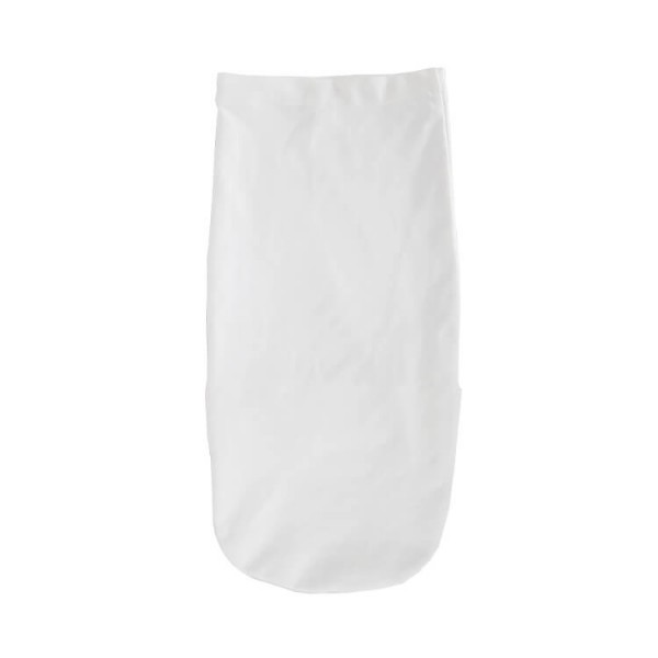 white color cotton jersey swaddle pod
