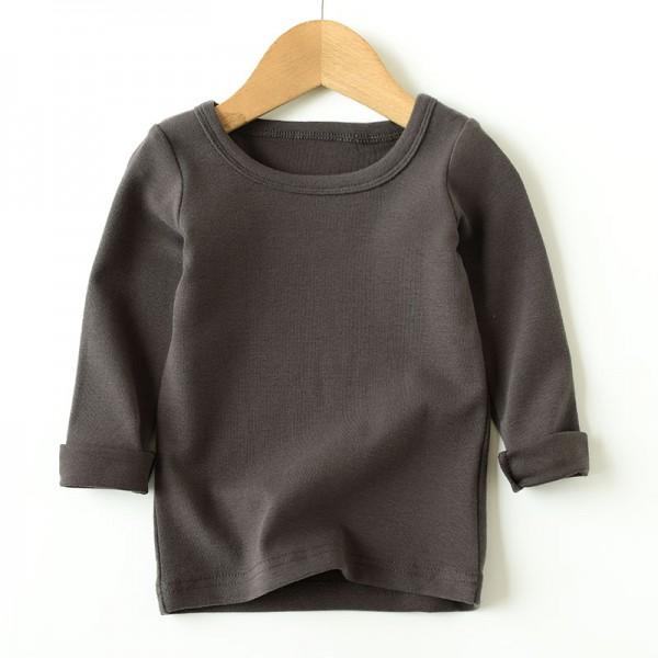 Long sleeve cotton tshirt