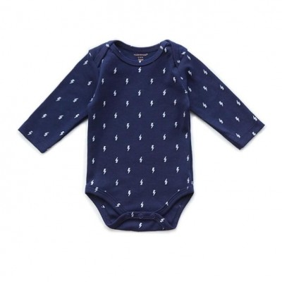 Newborn baby boy organic cotton romper