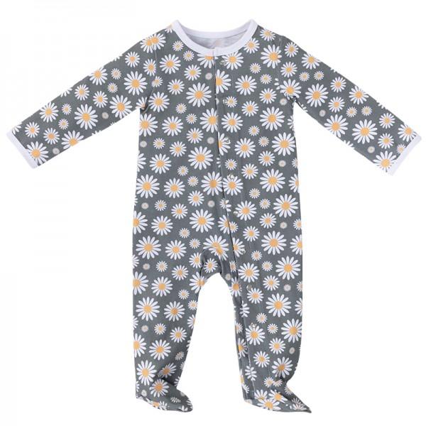 Baby pajamas footie snap baby pajamas baby rompers