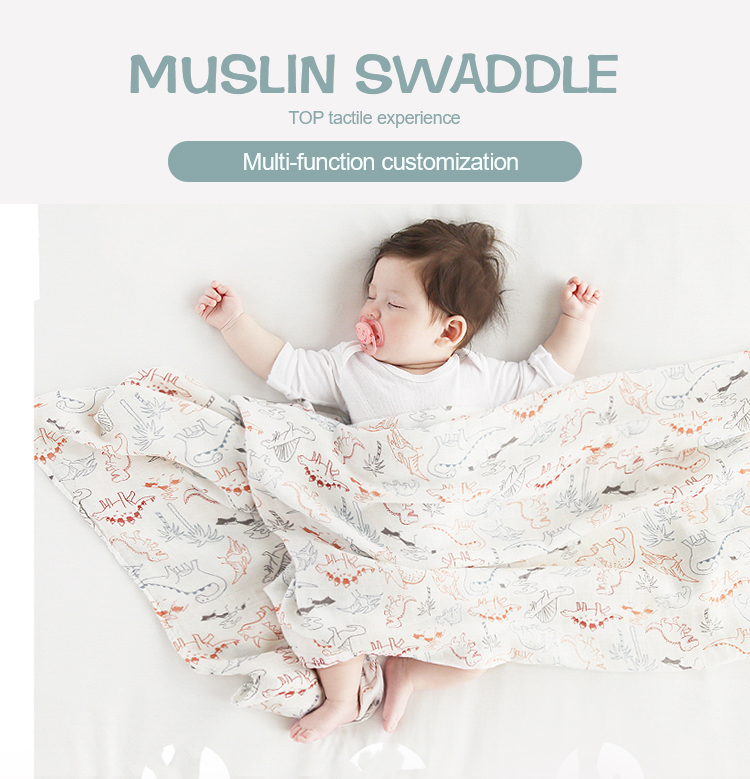 muslin swaddle blanket 1 3 - Car Seat Swaddle Blanket