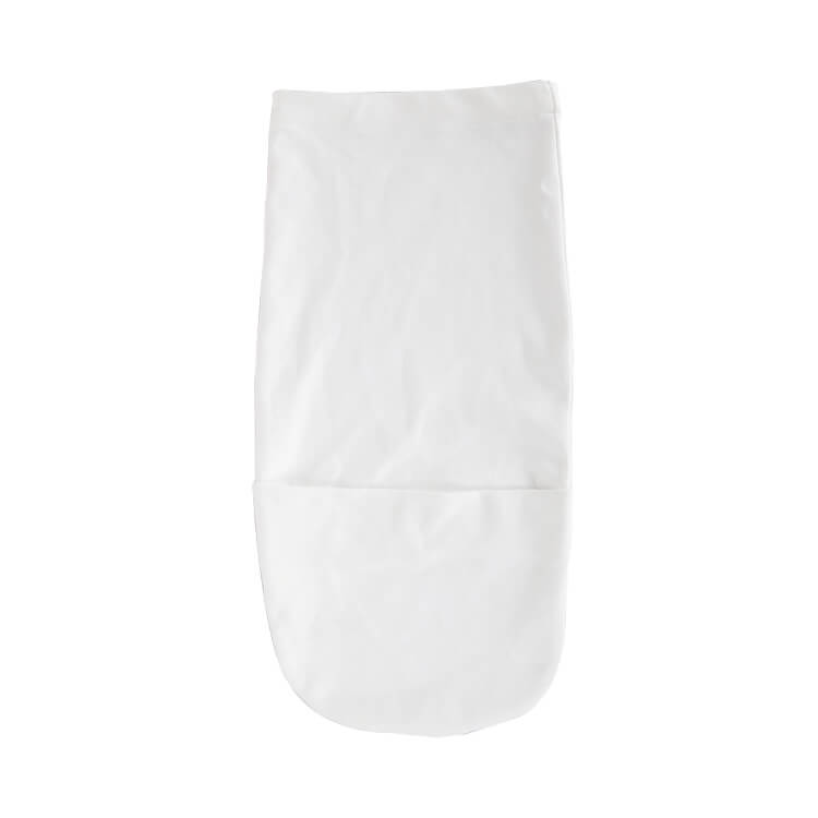 White Color Cotton Jersey Swaddle Pod Hbbaby