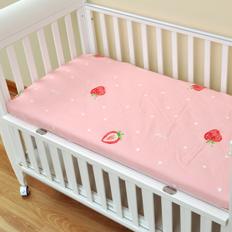 17468024798 653970100 - Reactive Print Cotton Muslin Baby Fitted Crib Sheet