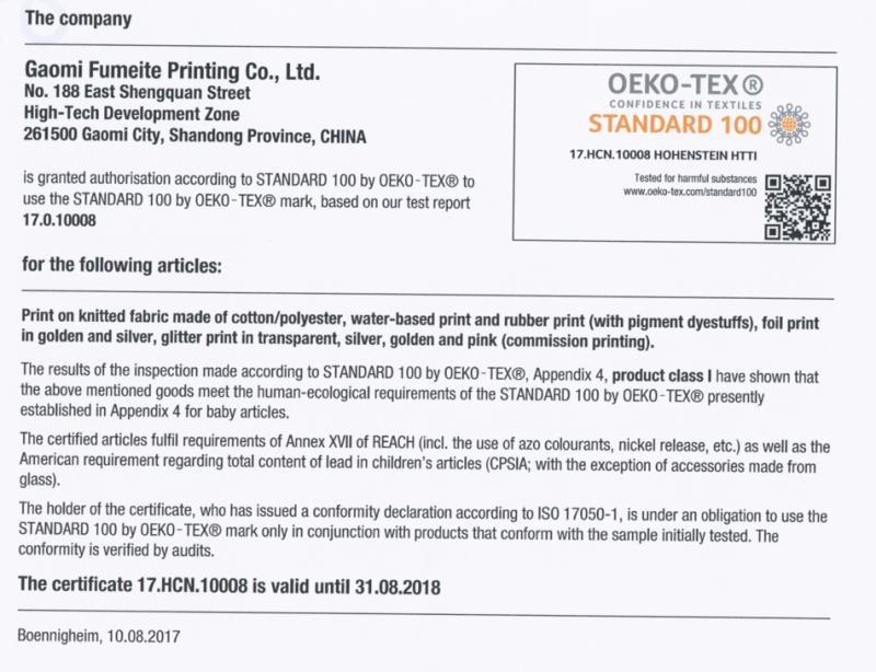 Oeko - Reactive Print Cotton Muslin Baby Fitted Crib Sheet