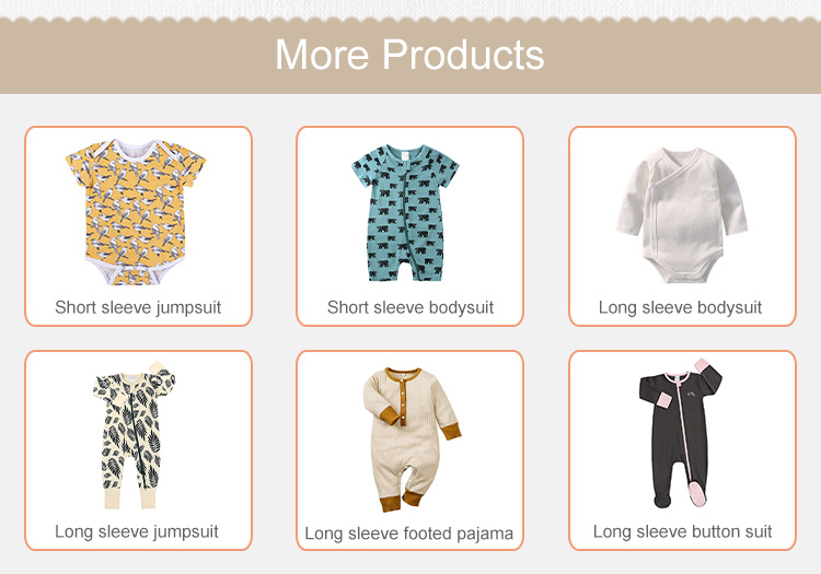 7 - One piece outfits for baby